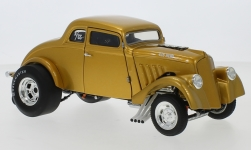 Modellauto - <strong>Willys</strong> Custom Gassser, gold, 1933<br /><br />ACME, 1:18<br />Nr. 241965