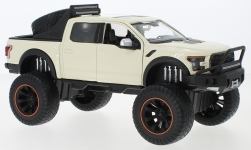 Modellauto - <strong>Ford</strong> F-150 Raptor Off Road, beige, Maßstab 1:27, 2017<br /><br />Motormax, 1:24<br />Nr. 242011