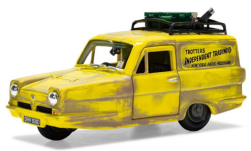 Modelcar - <strong>Reliant</strong> Regal, RHD, Trotters Independent Trading, with Einsatzspuren and material loaded<br /><br />Corgi, 1:36<br />No. 242017