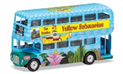 Modellauto - <strong>-</strong> London Bus, The Beatles, Yellow Submarine<br /><br />Corgi, 1:64<br />Nr. 242038