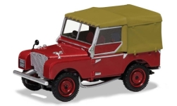 Modellauto - <strong>Land Rover</strong> Series 1 80inch, dunkelrot, RHD<br /><br />Vanguards, 1:43<br />Nr. 242092