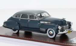 Modelcar - <strong>Cadillac</strong> series 63 Touring Sedan, metallic-dark blue/metallic-grey, 1941<br /><br />GIM - Great Iconic Models, 1:43<br />No. 242168