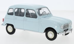 Modellauto - <strong>Renault</strong> 4L, hellblau<br /><br />WhiteBox, 1:24<br />Nr. 242184