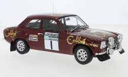 Modellino - <strong>Ford</strong> Escort MK1 RS 1600, No.1, Colibri Lighters, rally WM, RAC rally, T.Makinen/H.Liddon, 1974<br /><br />IXO, 1:18<br />n. 242186