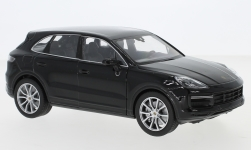 ModelCar - <strong>Porsche</strong> Cayenne Turbo, schwarz<br /><br />Welly, 1:24<br />番号 242226