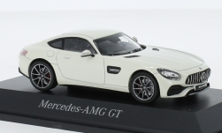 Modellauto - <strong>Mercedes</strong> AMG GT (C190), metallic-weiss<br /><br />I-Norev, 1:43<br />Nr. 242234