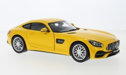 Modellauto - <strong>Mercedes</strong> AMG GT S (C190), metallic-gelb<br /><br />I-Norev, 1:18<br />Nr. 242236