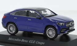 Modellauto - <strong>Mercedes</strong> GLE Coupe (C167), metallic-blau<br /><br />I-iScale, 1:43<br />Nr. 242247