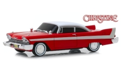 Modellauto - <strong>Plymouth</strong> Fury, rot/weiss, Christine, Evil Version (getönte Scheiben), 1958<br /><br />Greenlight, 1:43<br />Nr. 242263