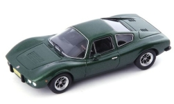 Modellauto - <strong>Bianco</strong> S Coupe, metallic-dunkelgrün, 1977<br /><br />AutoCult, 1:43<br />Nr. 242343