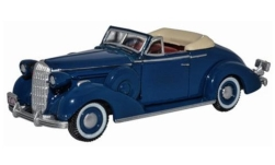 ModelCar - <strong>Buick</strong> Special Convertible, blau, 1936<br /><br />Oxford, 1:87<br />番号 242419