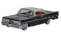 автомодель - <strong>Pontiac</strong> Bonneville Coupe, schwarz/weiss, 1959<br /><br />Oxford, 1:87<br />№ 242426