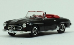 Modelcar - <strong>Mercedes</strong> 190 SL, black, without showcase, 1955<br /><br />SpecialC.-115, 1:43<br />No. 242441