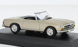 Modellauto - <strong>Mercedes</strong> 230 SL, metallic-beige, ohne Vitrine, 1963<br /><br />SpecialC.-115, 1:43<br />Nr. 242443