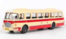 Modellauto - <strong>Skoda</strong> 706 RTO, beige/rot, Municipal Transportation Company Brno<br /><br />Abrex, 1:43<br />Nr. 242449