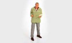 Modellauto - <strong>Figur</strong> Spediteur, stehend<br /><br />Road Kings, 1:18<br />Nr. 242580
