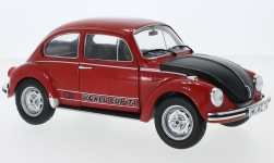 Modelcar - <strong>VW</strong> beetle 1303 World Cup Edition, red/black, 1974<br /><br />Solido, 1:18<br />No. 242636