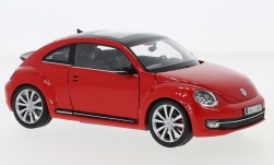 ModelCar - <strong>VW</strong> Beetle, rot, 2012<br /><br />Welly, 1:24<br />番号 242653
