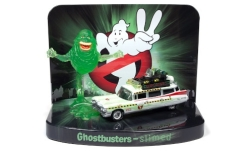 Modellauto - <strong>Cadillac</strong> Ecto-1A, Ghostbusters, mit Figur, 1959<br /><br />Johnny Lightning, 1:64<br />Nr. 242654