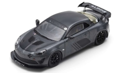 Modelcar - <strong>Alpine</strong> A110 GT4, metallic-grey/black, Goodwood, 2018<br /><br />Spark, 1:43<br />No. 242836