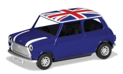 Modellauto - <strong>Mini</strong> Cooper, blau/weiss, RHD, Union Jack, Best of British<br /><br />Corgi, 1:36<br />Nr. 243125