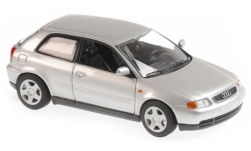Modellauto - <strong>Audi</strong> A3 (8L), silber, 1996<br /><br />Maxichamps, 1:43<br />Nr. 243209