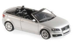 Modellauto - <strong>Audi</strong> A3 Cabriolet, silber, 2007<br /><br />Maxichamps, 1:43<br />Nr. 243212