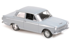 Modellauto - <strong>Ford</strong> Cortina MkI, grau, RHD, 1962<br /><br />Maxichamps, 1:43<br />Nr. 243223