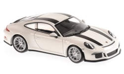 Modellino - <strong>Porsche</strong> 911 R (991), bianco/nero, 2016<br /><br />Maxichamps, 1:43<br />n. 243257