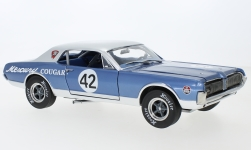 Modellauto - <strong>Mercury</strong> Cougar Racing, No.42, Team Cougar, Northwoods Shelby Club, 1967<br /><br />Sun Star, 1:18<br />Nr. 243305