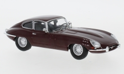 Modelcar - <strong>Jaguar</strong> E-Type, dark red, 1963<br /><br />IXO, 1:43<br />No. 243332