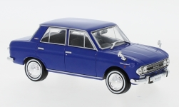 ModelCar - <strong>Datsun</strong> Bluebird, blau, RHD, 1966<br /><br />First 43 Models, 1:43<br />No. 243409