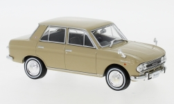 ModelCar - <strong>Datsun</strong> Bluebird, beige, RHD, 1966<br /><br />First 43 Models, 1:43<br />No. 243410