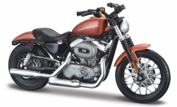 Modellauto - <strong>Harley Davidson</strong> XL 1200N Nightster, bronze, 2007<br /><br />Maisto, 1:18<br />Nr. 243439