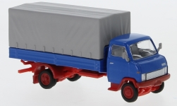 Modellauto - <strong>Hanomag</strong> F55 Pritsche, blau<br /><br />Schuco, 1:87<br />Nr. 243707