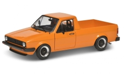 Modellauto - <strong>VW</strong> Caddy MK I, orange, 1982<br /><br />Solido, 1:18<br />Nr. 243804