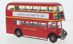 Modellauto - <strong>AEC</strong> Regent III RT, RHD, London Transport, 1939<br /><br />IXO, 1:43<br />Nr. 243810