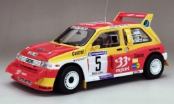 Modellauto - <strong>MG</strong> Metro 6R4, No.5, 33 Export, Criterium des Cevennes, D.Auriol/B.Occelli, 1986<br /><br />Sun Star, 1:18<br />Nr. 243841
