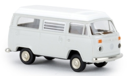Modelcar - <strong>VW</strong> T2 Camper, light grey, with Aufstelldach, 1972<br /><br />Brekina, 1:87<br />No. 243855