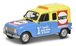 Modelcar - <strong>Renault</strong> R4 F4, Darty, 1988<br /><br />Solido, 1:18<br />No. 243877