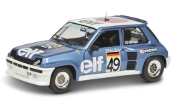 Modelcar - <strong>Renault</strong> 5 Turbo, No.49, Elf, Elf Renault 5 Turbo Europacup, tent Strees, W.Röhrl, 1981<br /><br />Solido, 1:18<br />No. 243888
