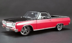 Modelcar - <strong>Chevrolet</strong> El Camino customs, red/black, Not Your Mothers El Camino, 1965<br /><br />ACME, 1:18<br />No. 243948