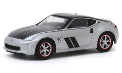 Modelcar - <strong>Nissan</strong> 370Z, silver/black, 50th Anniversary, 2020<br /><br />Greenlight, 1:64<br />No. 243980