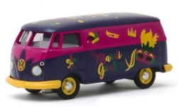Modelcar - <strong>VW</strong> Panel Van (T2), Mardi Gras 2020, box wagon<br /><br />Greenlight, 1:64<br />No. 243983