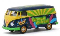 Modelcar - <strong>VW</strong> Panel Van (T2), Carnaval do Brasil 2020, box wagon<br /><br />Greenlight, 1:64<br />No. 243984