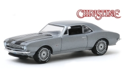 Modelcar - <strong>Chevrolet</strong> Camaro, metallic-grey/black, Christine, 1967<br /><br />Greenlight, 1:64<br />No. 244002