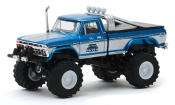 Modelcar - <strong>Ford</strong> F-250 Monster Truck, King Kong, 1975<br /><br />Greenlight, 1:64<br />No. 244006