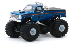 Modelcar - <strong>GMC</strong> High  Sierra 2500 Monster Truck, Bear Foot, 1985<br /><br />Greenlight, 1:64<br />No. 244007