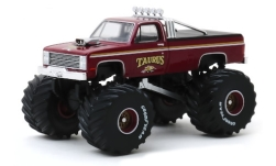 Modelcar - <strong>Chevrolet</strong> K-20 Monster Truck, Taurus, 1986<br /><br />Greenlight, 1:64<br />No. 244008