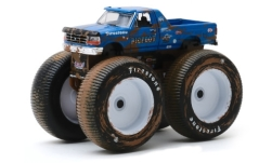 Modelcar - <strong>Ford</strong> F-250 Monster Truck, Bigfoot No.5, 1996<br /><br />Greenlight, 1:64<br />No. 244010